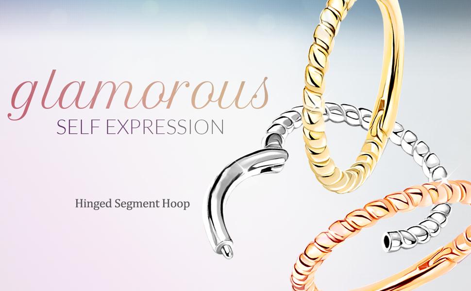 hinged Segment ring hoop