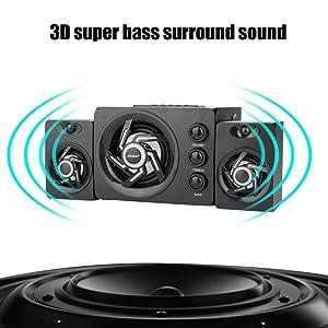 3D Sound speaker