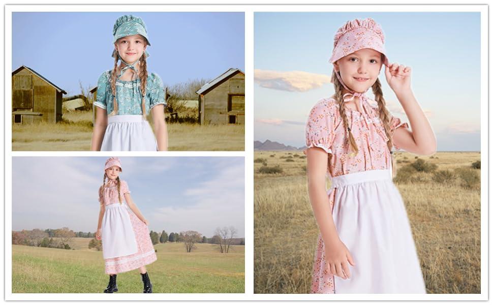 Girls Prairie Dress