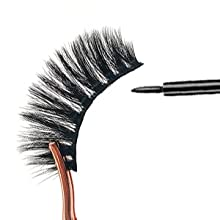 Fake Eyelashes Handmade Dramatic Eyelashes Pack