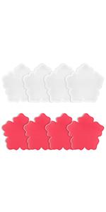 Flower Coaster Resin Molds