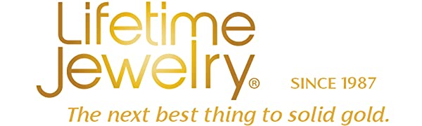 Lifetime Jewelry gold jewelry rose gold jewelry for women women's gold jewelry. 14 k gold chain 18k