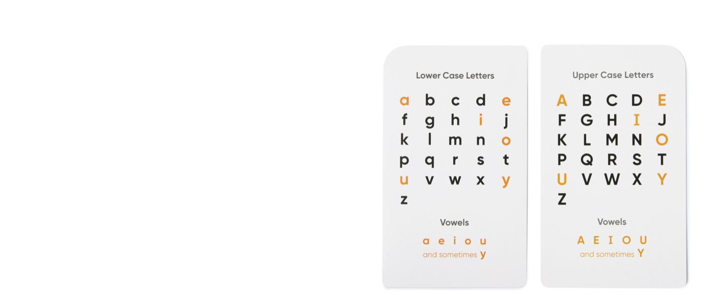 Alphabet Bonus Charts