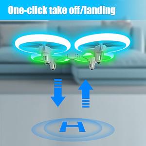 drone auto landing