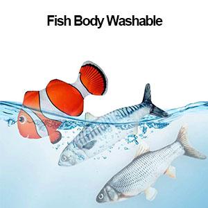 Electric simulation fish