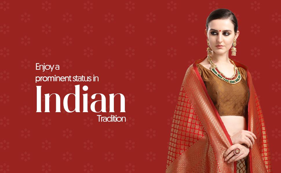 Kanjeevaram Woven Silk Saree