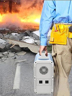 power storage power generator outdoor power solar power bank battery backup emergency camping
