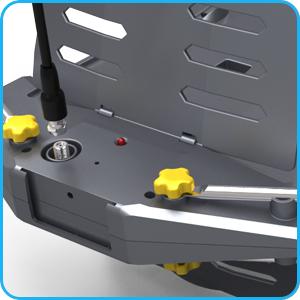 Ampifier indicator light