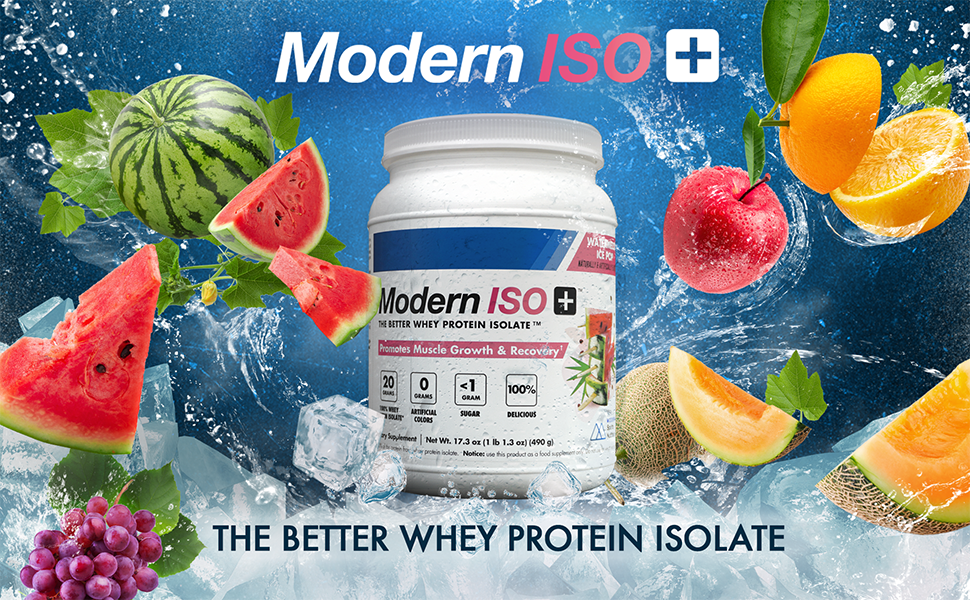 Modern ISO+ Whey Protein Isolate