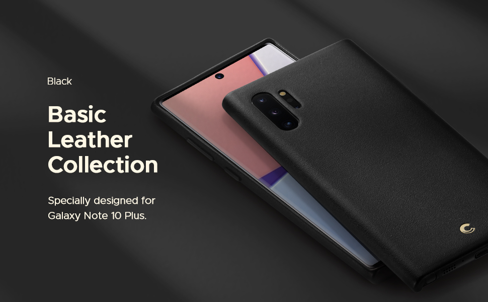 Basic Leather for Galaxy Note 10 Plus