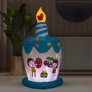 Inflatable Happy Birthday Cake