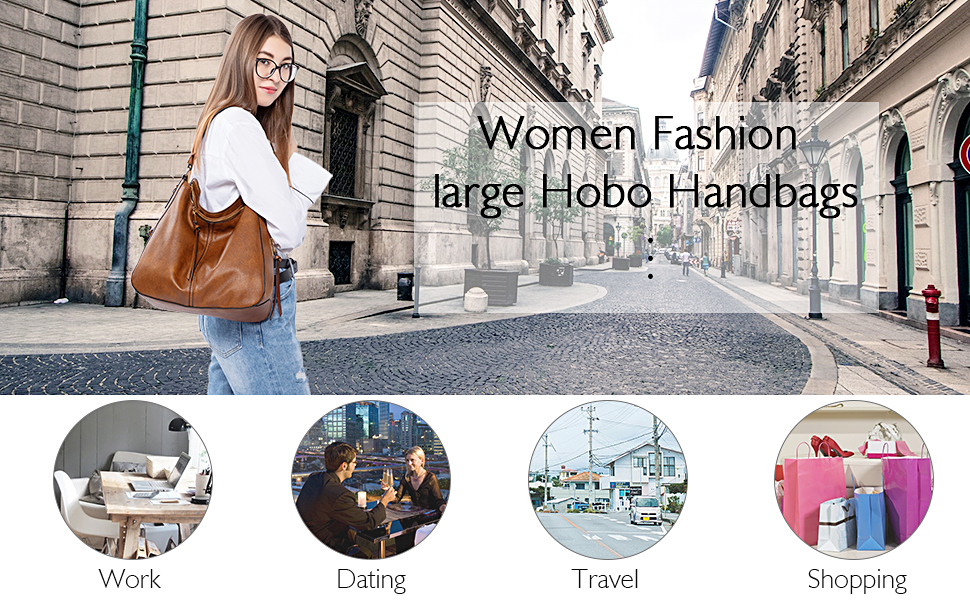 leather hobo handbags for women