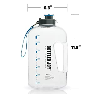 large water bottle