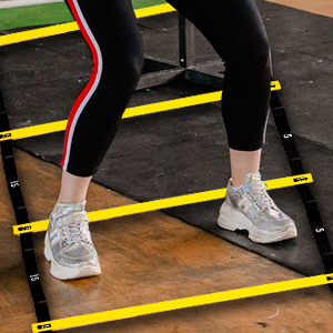 They improve three key fitness factors—speed, agility and quickness