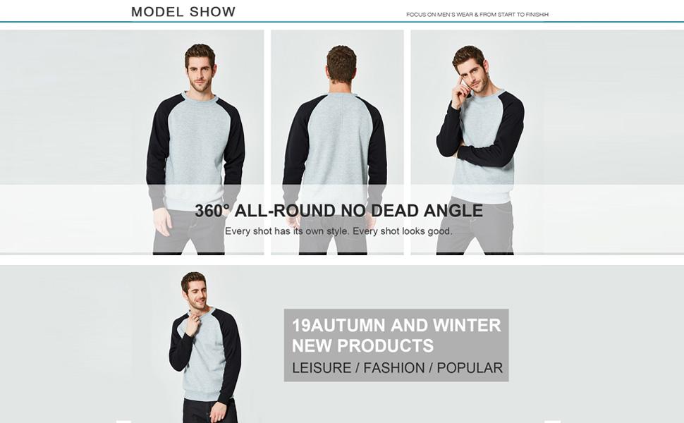 Mens fashion casual t-shirts
