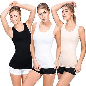 top damen weiss damenunterhemden unterhemd damen microfaser basic tops damen damenunterhemden