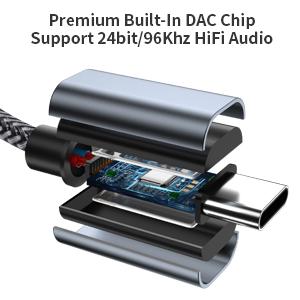 usb c audio aux cable