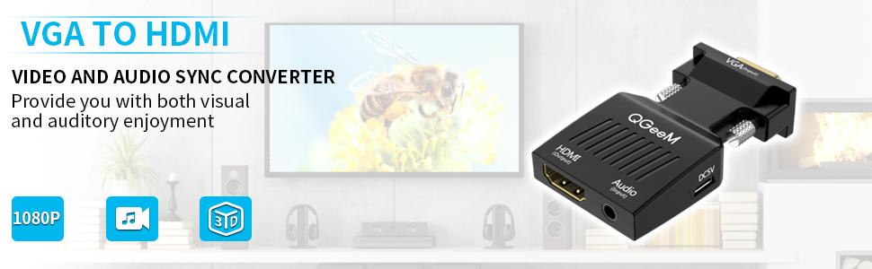 VGA to HDMI Adapter 2