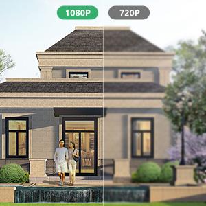 1080P H.265 camera outdoor