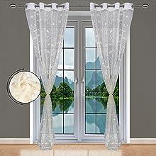 Light Cream Curtains