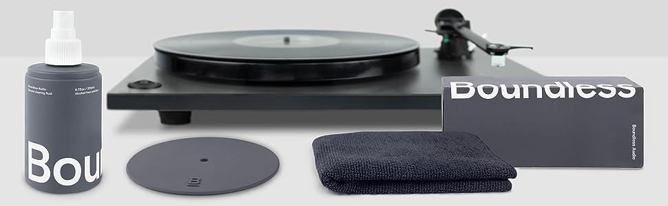 vinyl record cleaning solution liquid fluid microfiber cloth boundless audio hifi cleaner kit