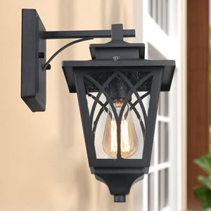 outdoor wall mounted light sconce for house porch
