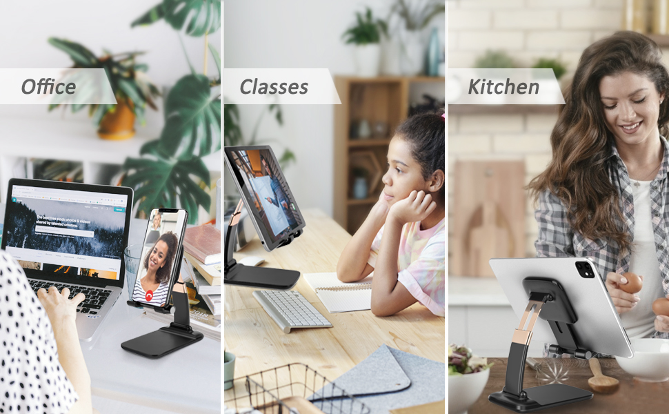 Multiple Mobile Stand Use