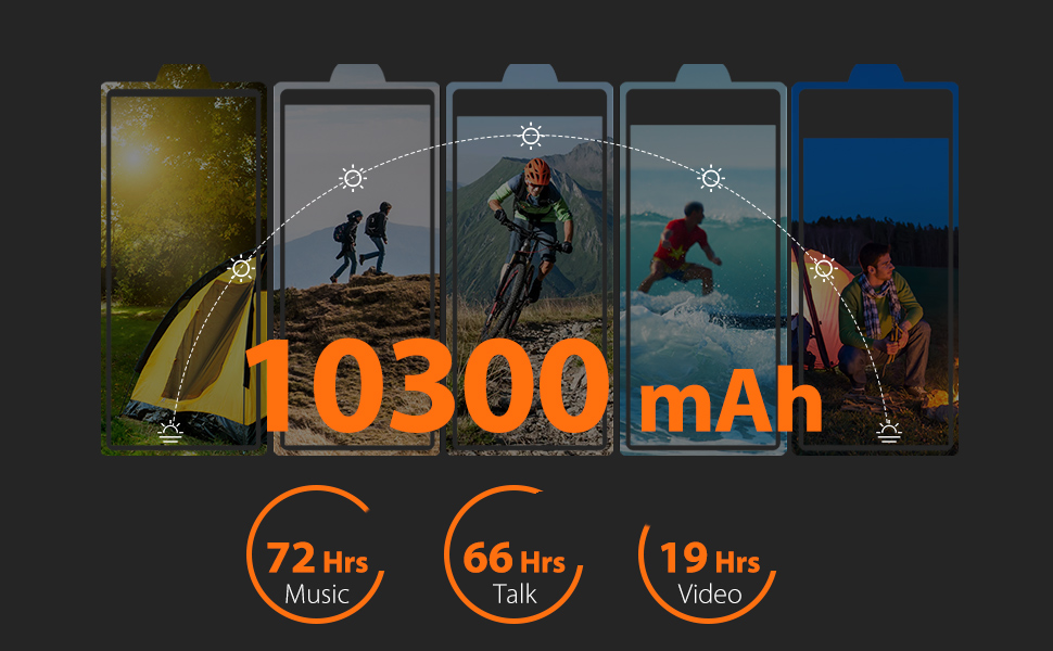 ulefone armor 3w big battery rugged phones