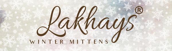 Lakhays Winter Mittens
