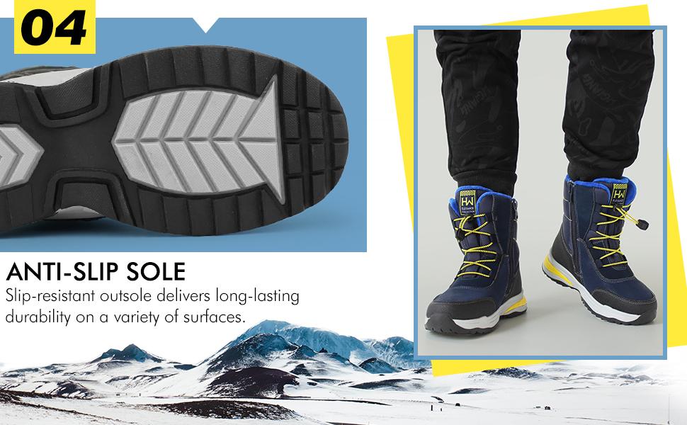 Hawkwell Anti-slip Boots