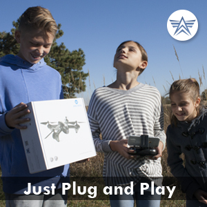 altair falcon plug and play drone