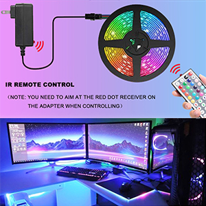 extra led strip lights without remote