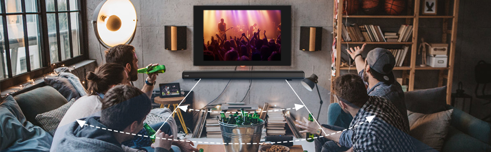 wireless smart sound bar