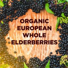 organic european whole elderberries