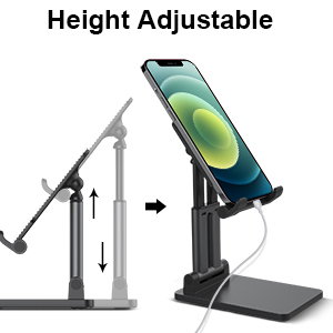 Height Adjustable & Support Charging