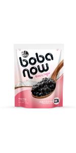 boba now brown sugar instant tapioca pearls