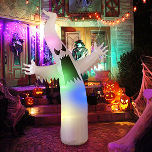 decoration outdoor decoration lighted ghost