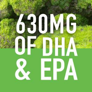 Vegan Omega 2:1 DHA to EPA plantgels no carrageenan
