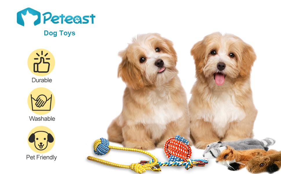 Peteast dog toys