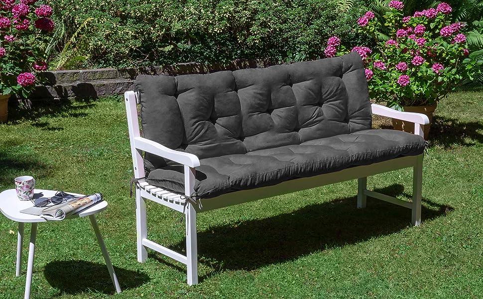 bench pad dark grey