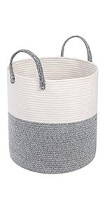cotton rope basket