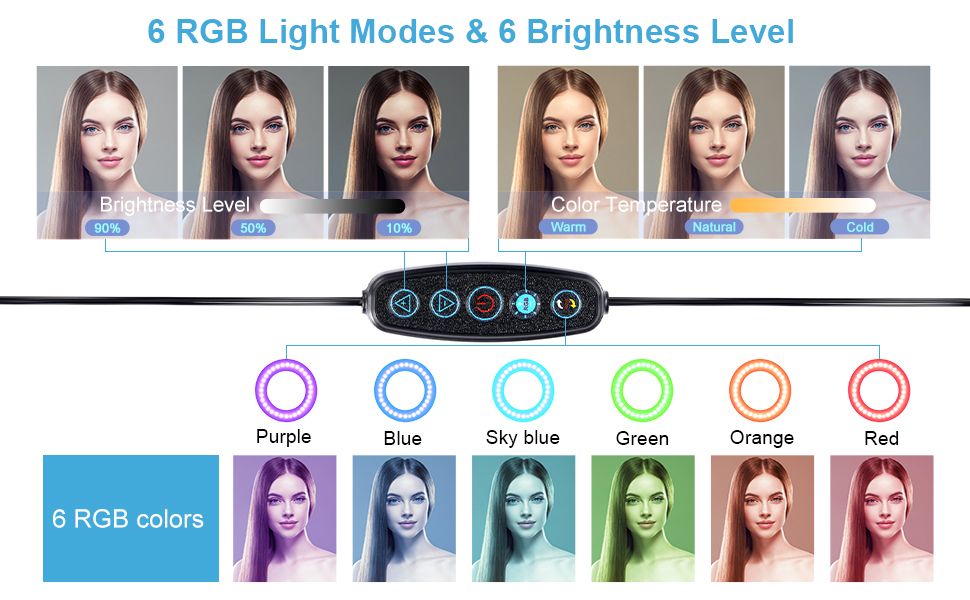 selfie ring light with stand