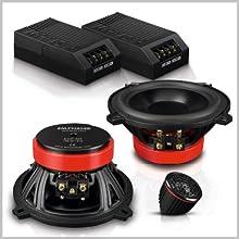 Emphaser Lautsprecher: Komponenten Systeme fürs Auto