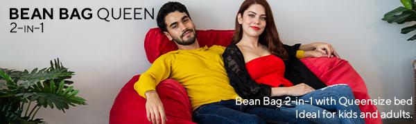 Bean Bag 2 in 1Queen Size