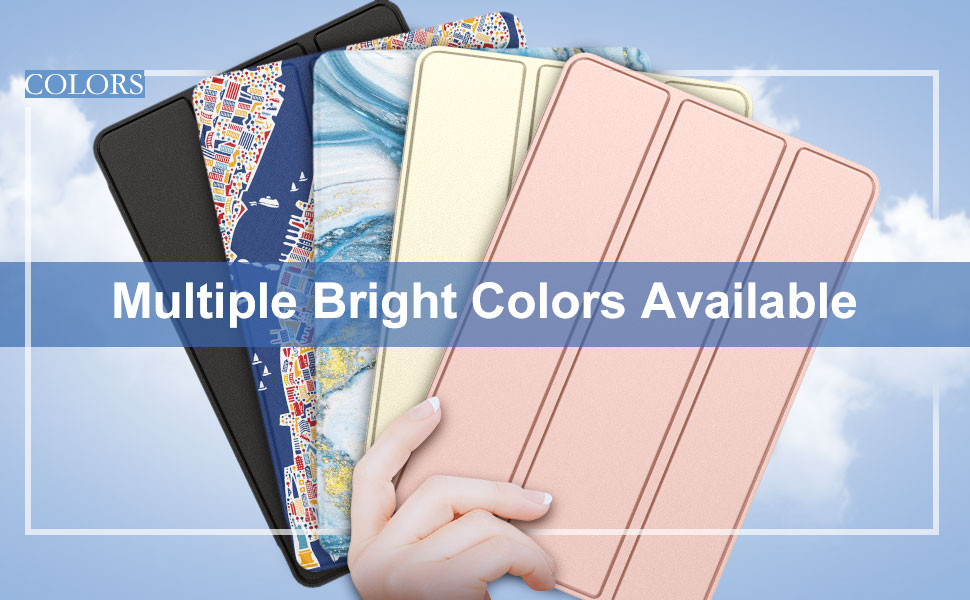 Multiple Bright Colors Available