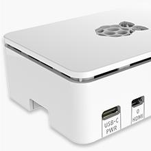 CanaKit Raspberry Pi 4 White Case