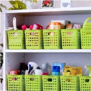 plastic storage baskets for kitchen