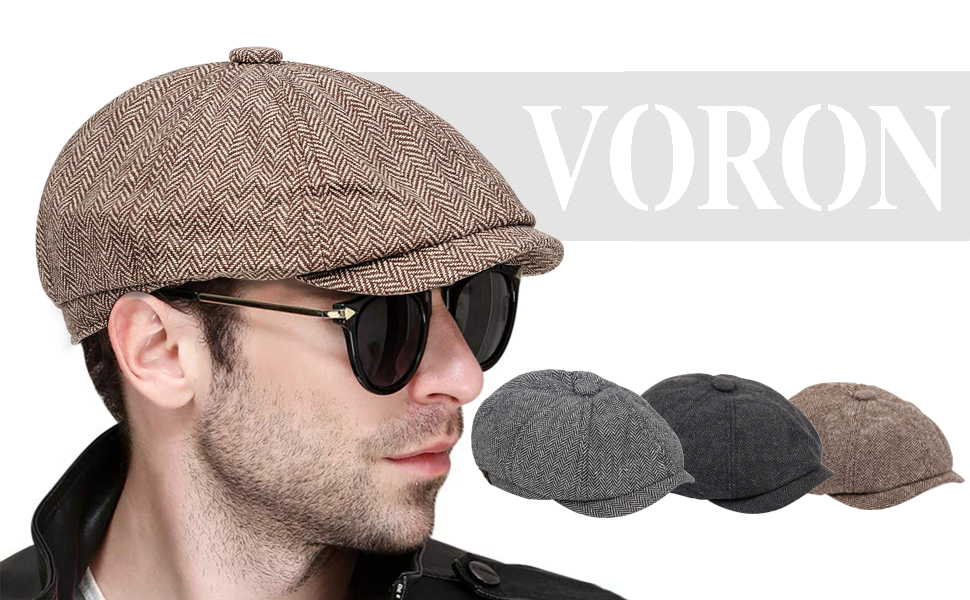 VORON Newsboy Hat