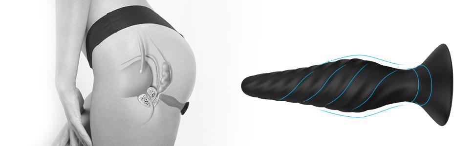 Butt Plug Training Set Anal Plugs Vibrator Trainer Kit Prostate Massager Sex Toys for Beginners