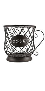 K cup Storage Bronze